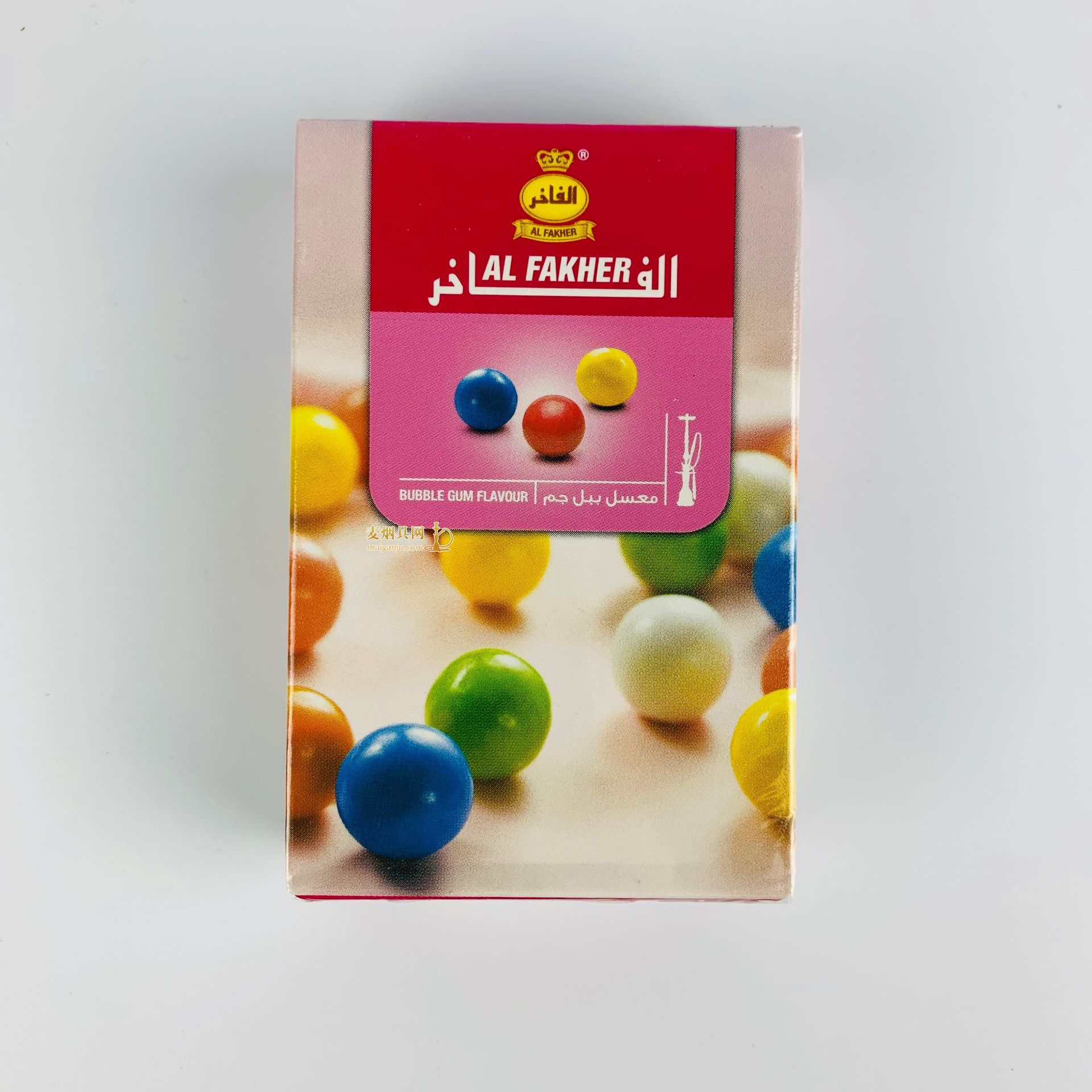 阿尔法赫alfakher50克水烟膏七彩泡泡糖口味