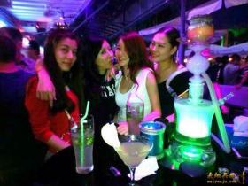 青岛阿拉伯水烟 青岛《唐人街》酒吧俱乐部水果味烟 欢迎品尝!