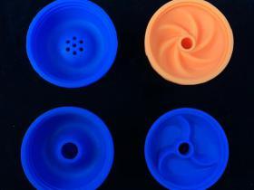 阿拉伯水烟硅胶烟锅的平面图装烟膏方式