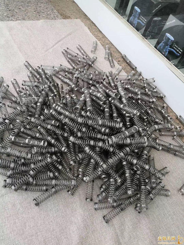 阿拉伯水烟弹簧厂家批发弹簧1000个起价格便宜