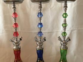 大号四嘴70厘米四人酒吧用阿拉伯水烟壶 结实耐用