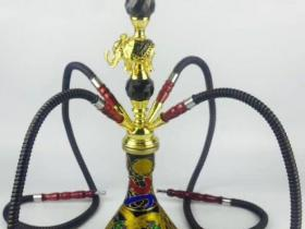 中号四嘴大象阿拉伯水烟壶价格便宜