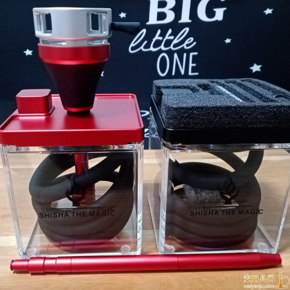 MAGIC水烟壶方形壶150×150MM亚克力水烟壶