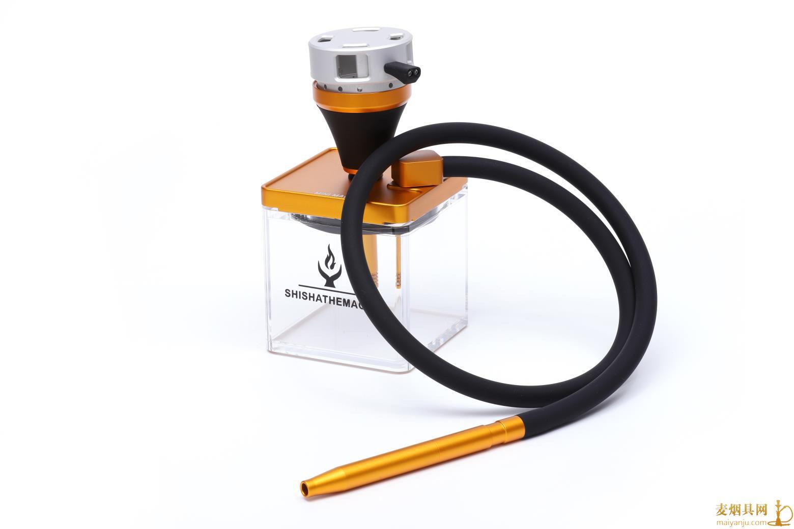 MAGIC水烟壶方形壶130×130MM亚克力水烟壶
