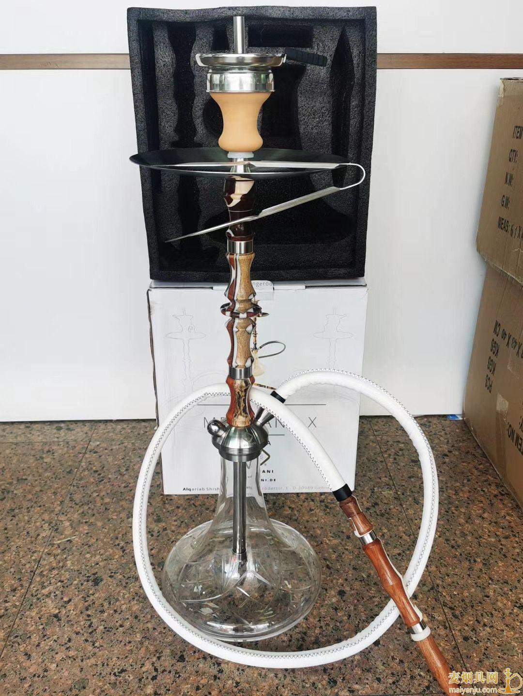 高端木纹不锈钢阿拉伯水烟壶图片价格批发多少钱