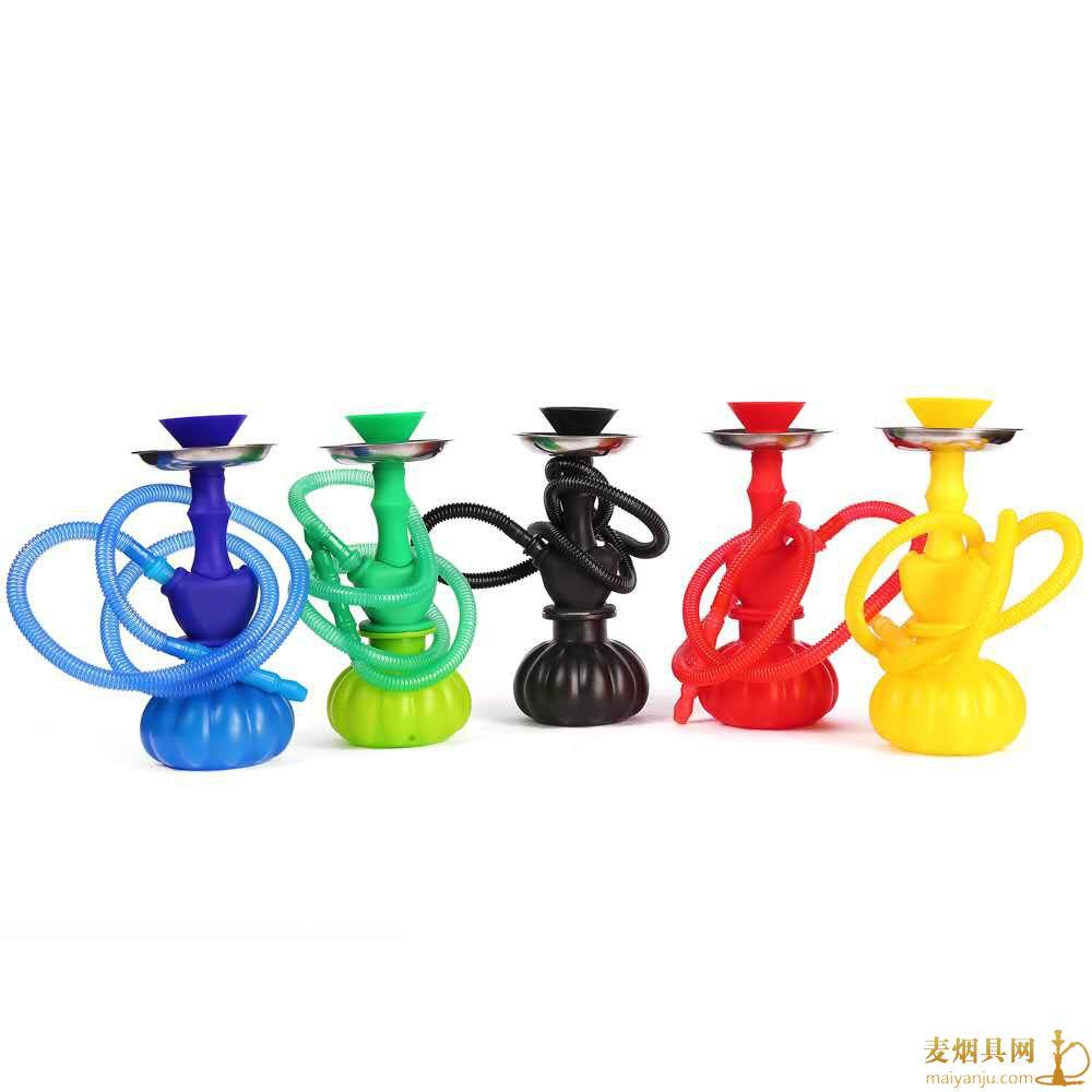 小号单嘴塑料阿拉伯水烟壶图片价格批发多少钱