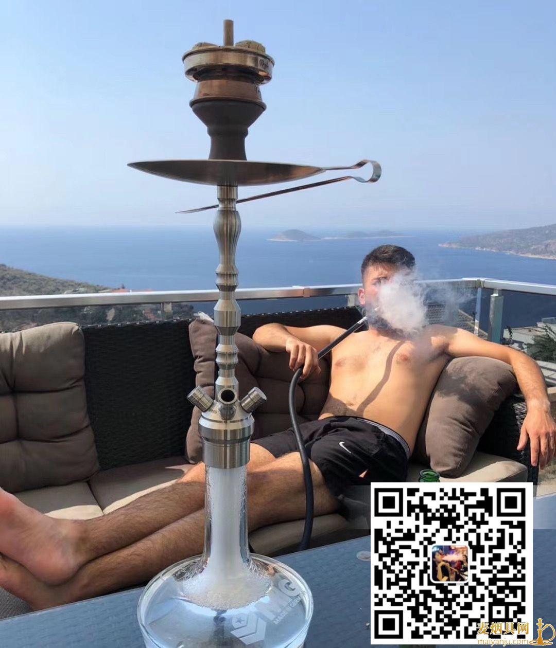 MIG新款阿拉伯水烟壶1234嘴不锈钢水烟壶图片价格批发多少钱