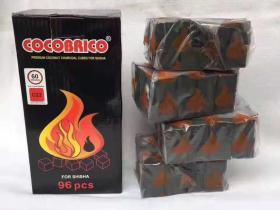 cocobrico进口椰壳炭 方形96片装