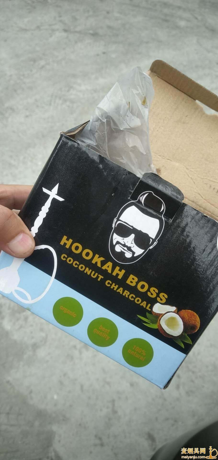 阿拉伯水烟椰壳炭三角碳hookah boss coconut charcoal图片