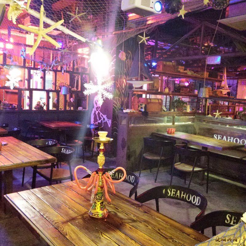 酒吧水烟壶