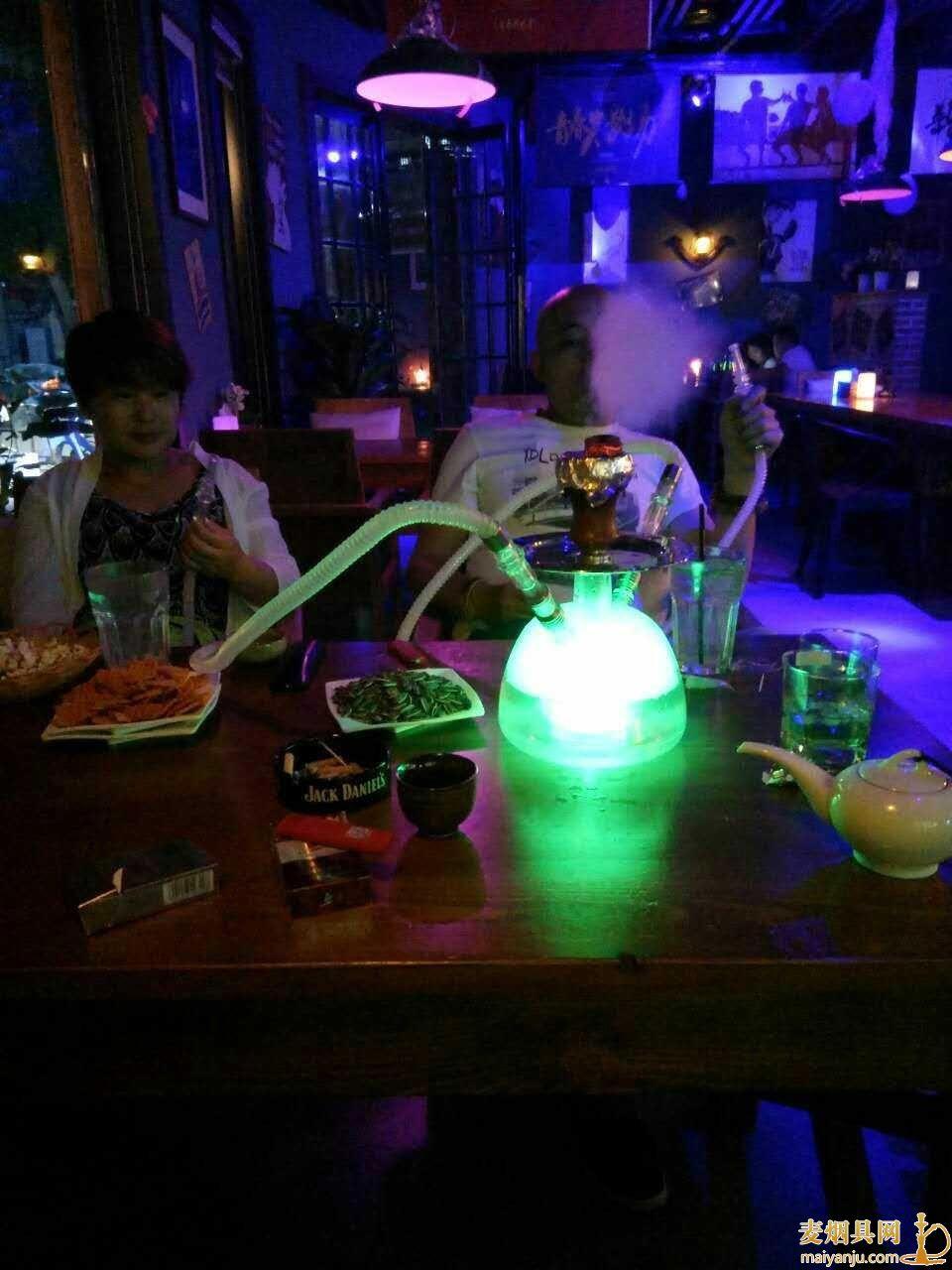酒吧用管子吸的叫什么烟