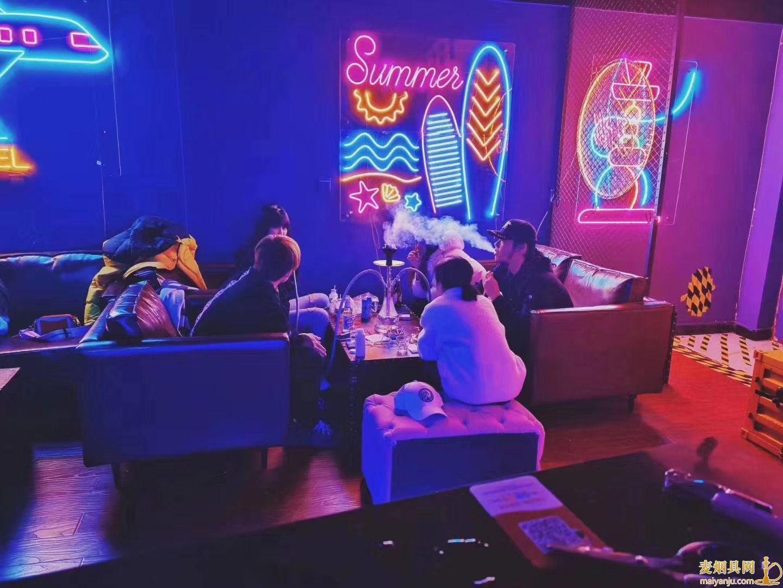 青岛哪个酒吧可以抽水烟