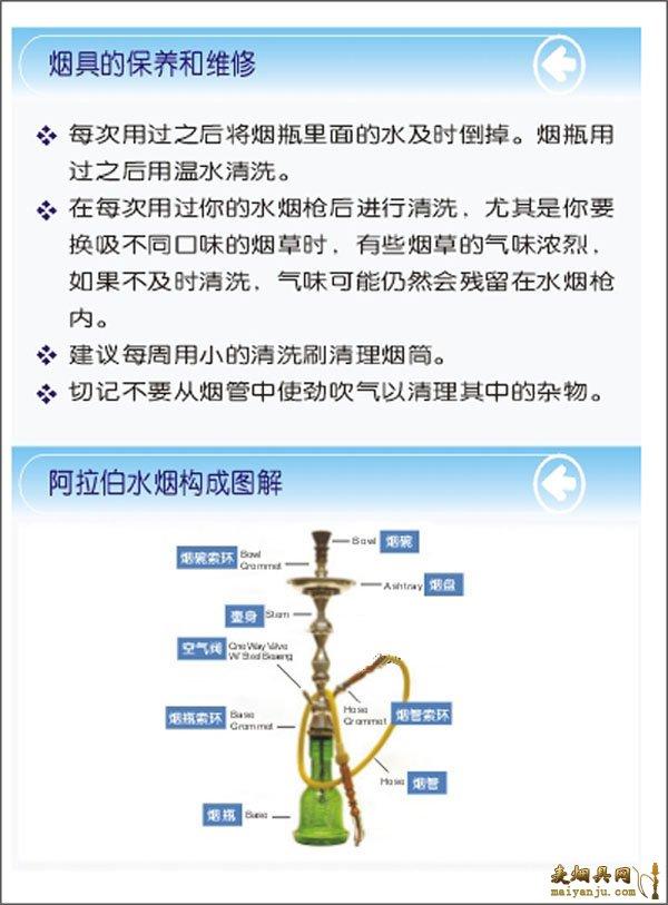 阿伯水烟壶使用方法