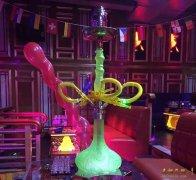 阿拉斯加 大号四嘴玻璃钢阿拉伯水烟壶