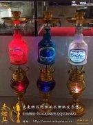 酒吧酒瓶阿拉伯水烟壶大号四嘴双灯75厘米高--2017酒吧爆款