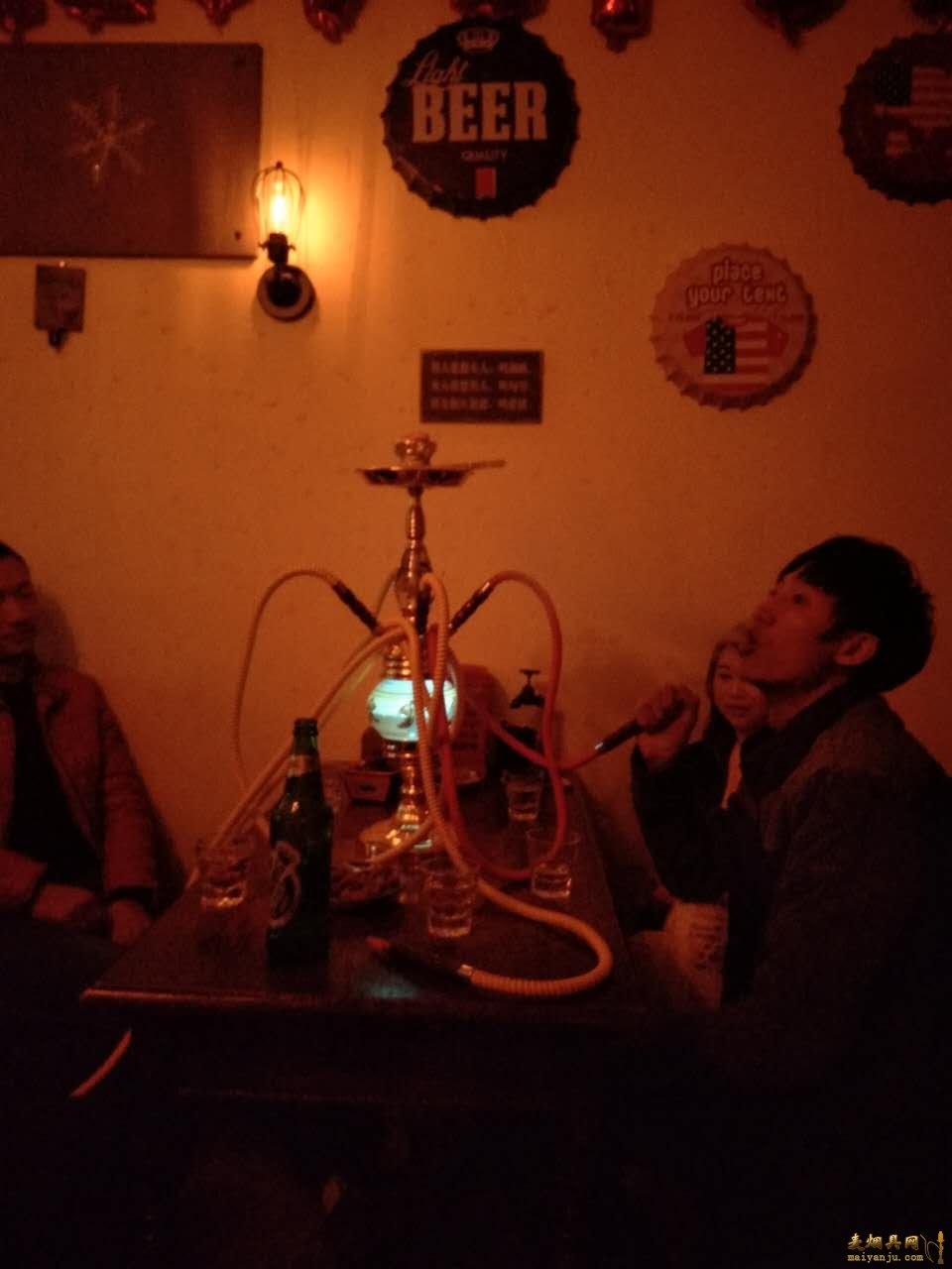 酒吧阿拉伯水烟