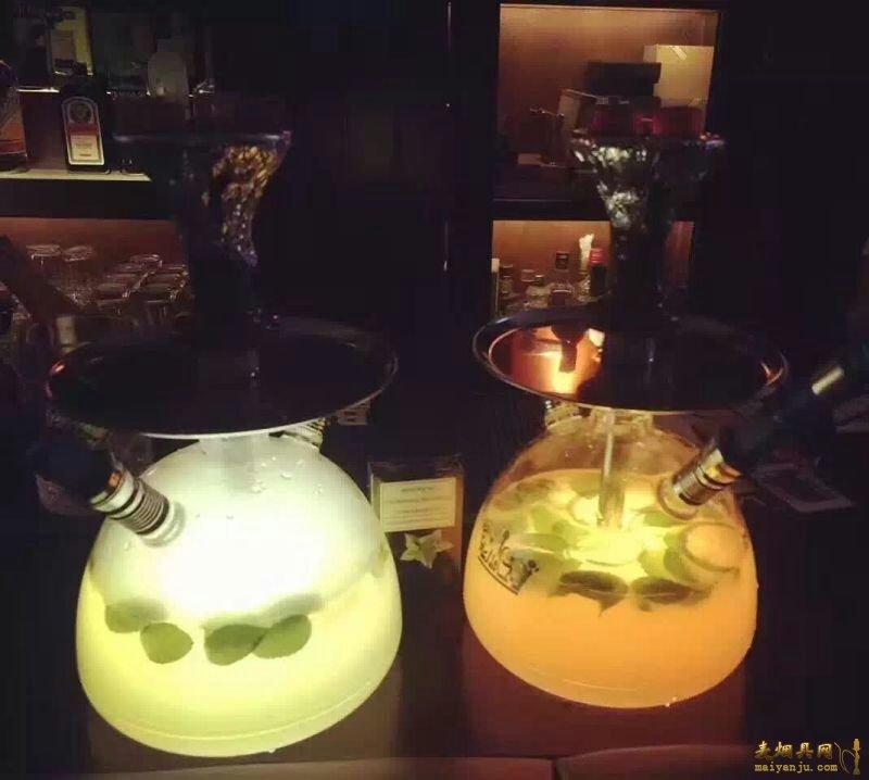 酒吧水烟壶能放酒吗